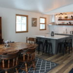 Newly renovated kitchen and dining area
