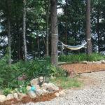 Lakefront hammock