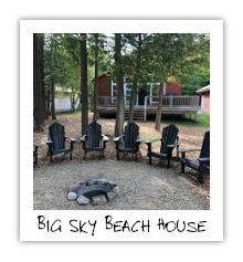 Big Sky Beach House - Kennisis Lake - Haliburton Highlands Ontario