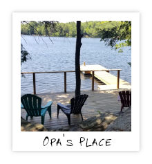 Opa's Place - Little Bob Lake - Minde Hills Ontario