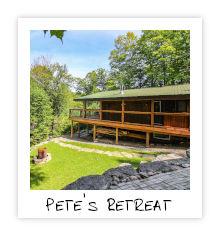Petes Retreat - Little Kennisis Lake - Haliburton Highlands Ontario